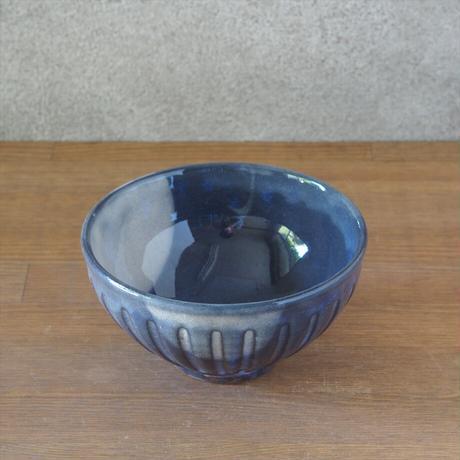 しのぎ飯碗【青萩釉】