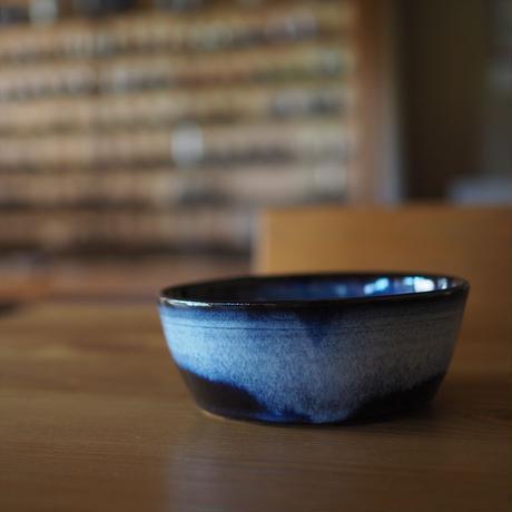 吹付浅鉢【青萩釉】