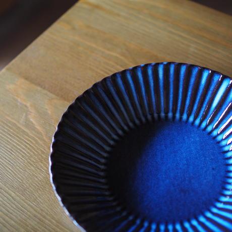 輪花6寸鉢【青萩釉】