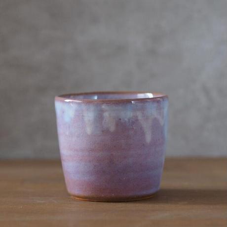 蕎麦猪口カップ【粉引紫】