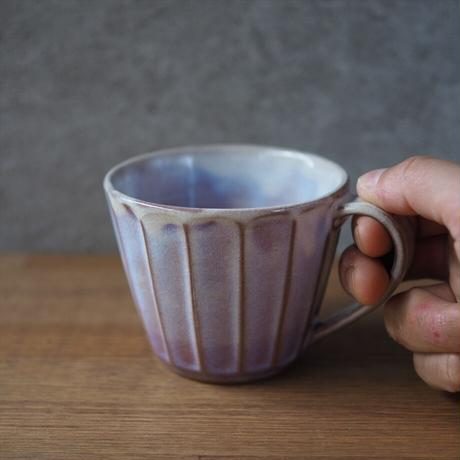 面取カフェオレカップ 全4色
