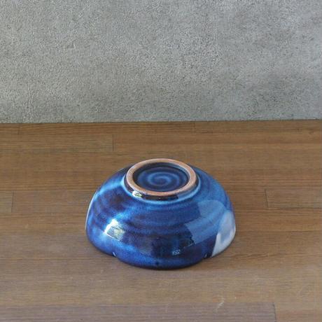 水玉輪花小鉢【青萩釉】