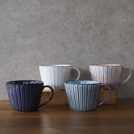 しのぎカフェオレカップ・大 全4色