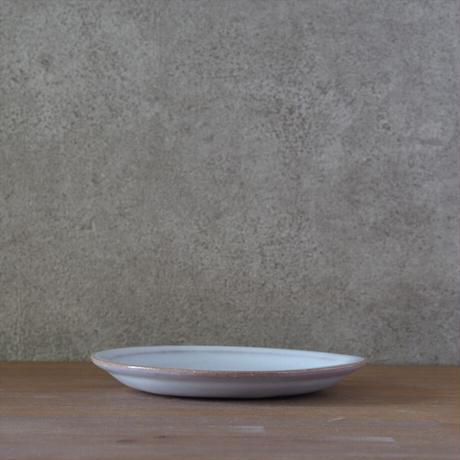 リム皿【白萩釉】