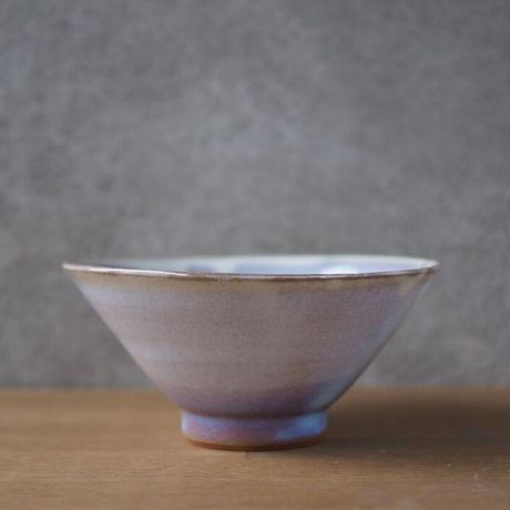 飯碗・大【粉引紫】