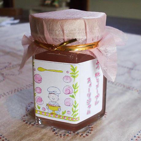 みつ桃とメープルスィーツジャム