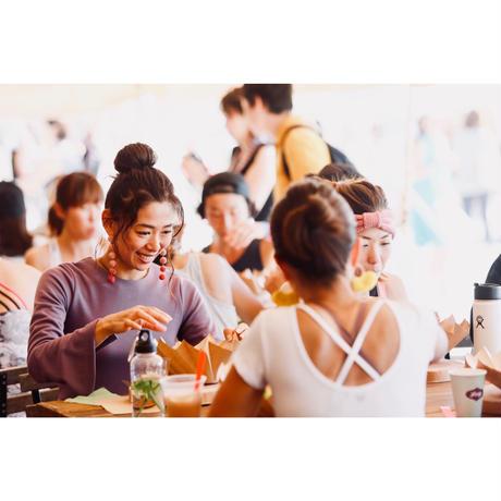 SPECIAL DAY【amigo kitchen SPECIAL LUNCH  with NOZAWA WAKA】2019/10/6(日)12:00〜14:00 @一色海岸 ※キャンセル払い戻し不可