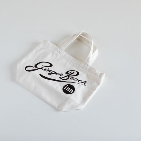 Foil Logo Tote in 100% Organic Cotton /Ginger Beach Inn Original