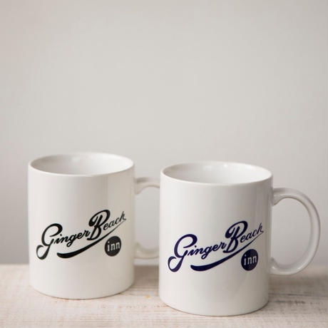 "Everyday Mug ""Ginger Beach Inn Logo"" / Navy"