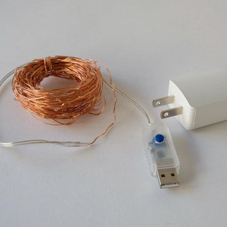 LED wire light brink / 1.5m 30pcs