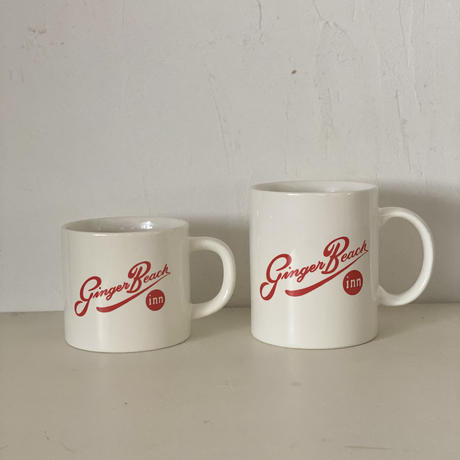 "Everyday Mug""Ginger Beach Inn Logo"" / Red /Large"