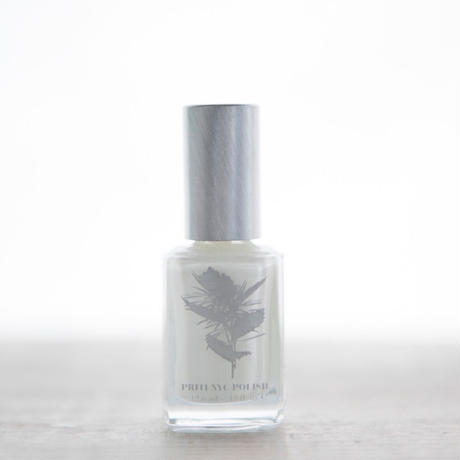 5 Free Nail Polish  -  White Ballet Dahlia /PRITI NYC