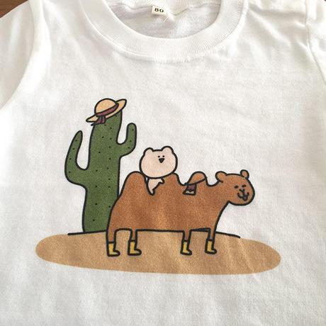 くまごろーベビーTシャツ(らくだ)