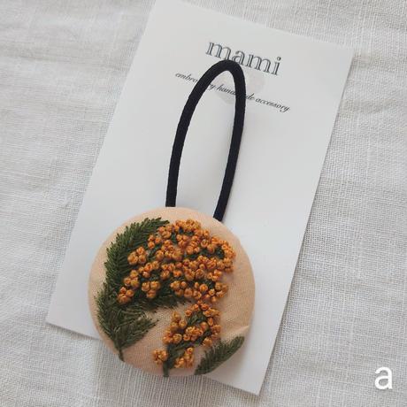 企画展「髪飾り」ー mami ヘアゴム(#1・4)