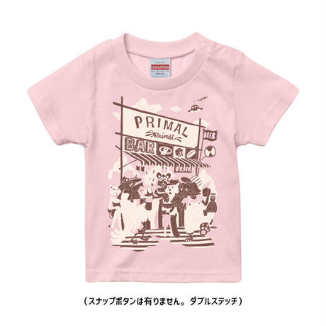 GravityFree×PRIMALオリジナルキッズTシャツ