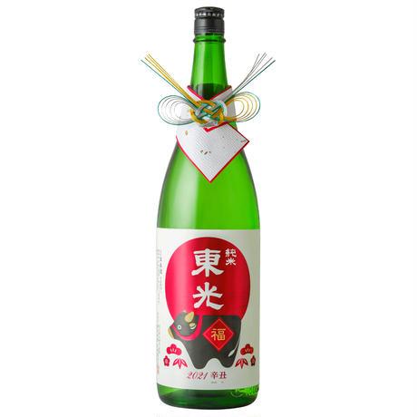 【数量限定】干支の酒と純金箔入セット 1800 mL×2本(ギフト箱入) (C-281)