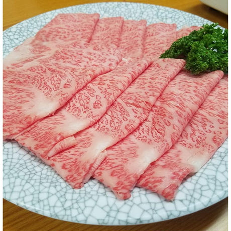 【特選米沢牛】すき焼きセットA+純米(2~3人分)着日指定 (S-700)