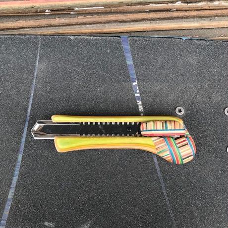 fustworks  recycleskatedeck cutterknife OL03