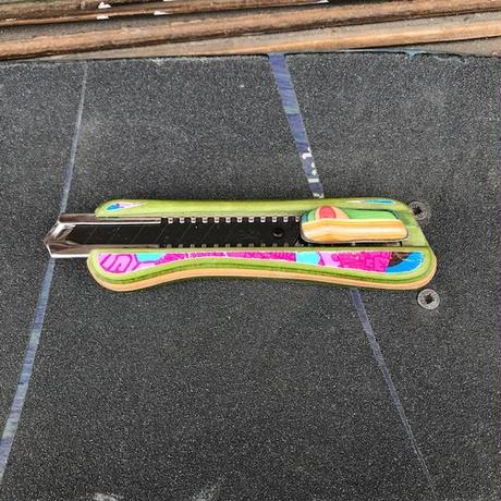 fustworks  recycleskatedeck cutterknife OL01