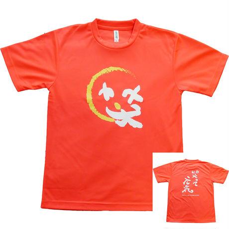 ドライTシャツ-Cライン(男女兼用)/蛍光オレンジ