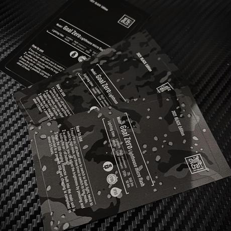 Shim.Craft ゼロステッカーBlack edition