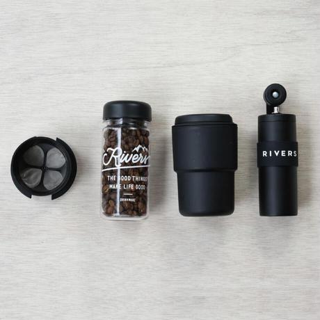 RIVERS コーヒーグラインダー グリット マットブラック