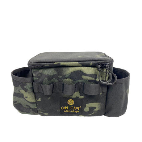 OWLCAMP Dark camouflage Side bag
