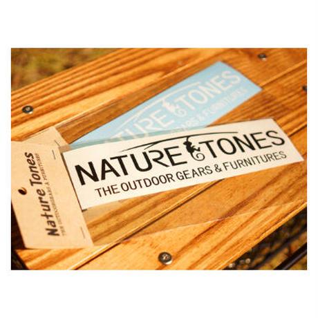 NATURETONES カッティングステッカー  Sサイズ