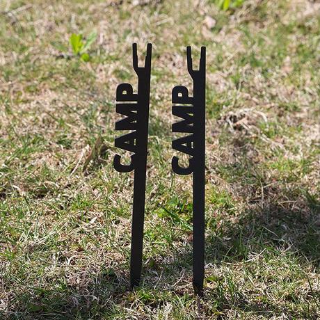 『5月中旬発送分』37CAMP カトリペグ ブラック
