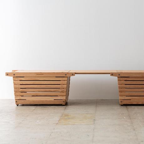 IKIKI Project エクステンションテーブルオーク
