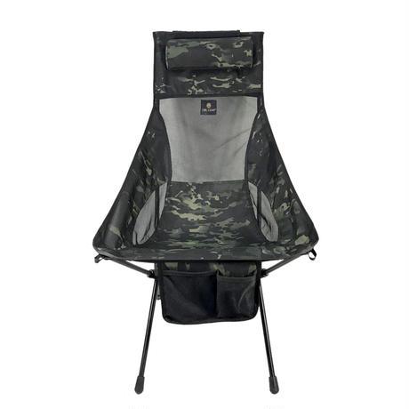 OWLCAMP Dark camouflage high back chair
