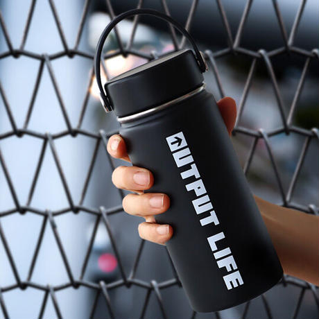OUTPUT LIFE × Hydro Flask HYDRATION 16oz Wide Mouth