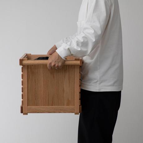 IKIKI Project シェルフコンテナMオーク