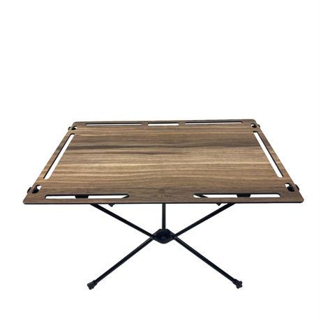 OWLCAMP Teak grain table