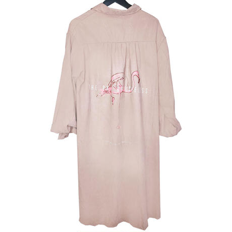 THE MALEVOLENT EDUCATION / THE PAIN OF LOVELESS shirt dress