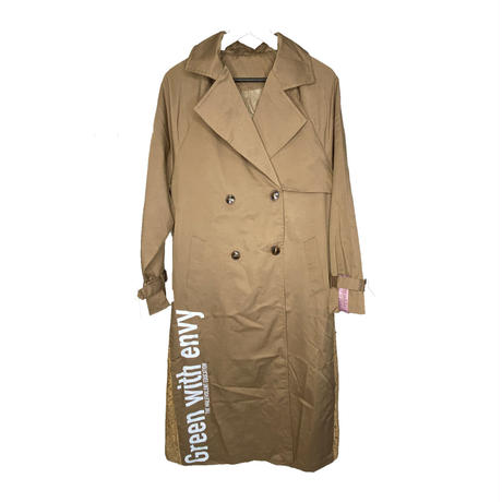Green with Envy trench coat