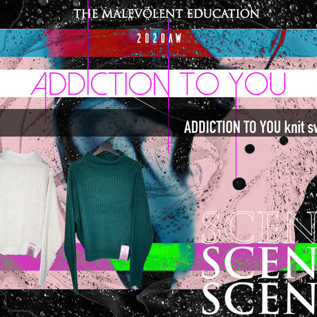 ADDICTION TO YOU knit sweater