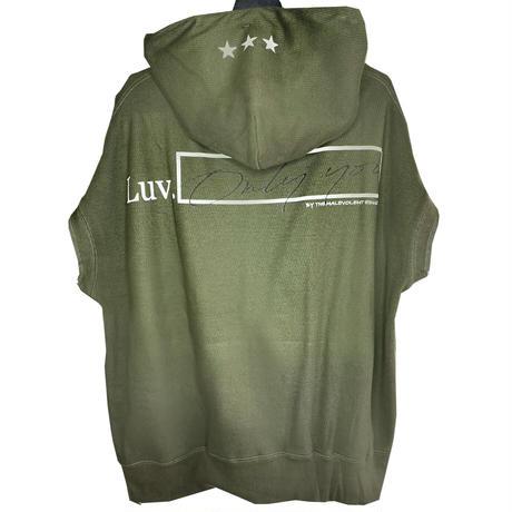 THE MALEVOLENT EDUCATION / LUV Sleeveless hoodie