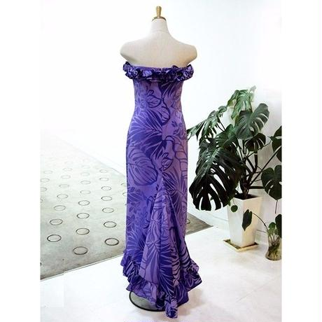 ホロクフリルドレス 紫 DC-001-A0456