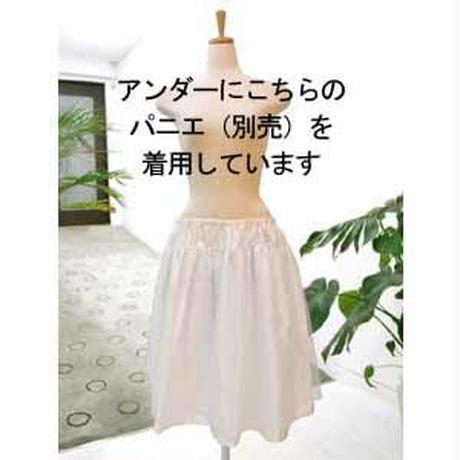 【即納セール】ギャザーワンピース 緑  DAI003-B0461 9号 通常価格¥19,440