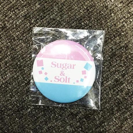 【缶バッチ】Sugar&Soltロゴ【通販限定】