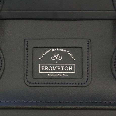 BROMPTON Cambridge Satchel [ネイビー]