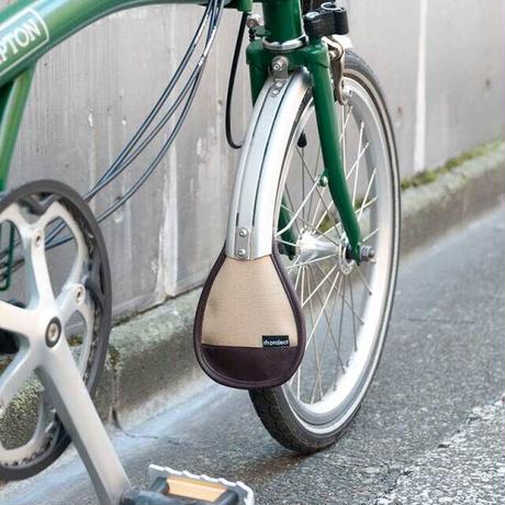 rin project マッドフラップ for BROMPTON