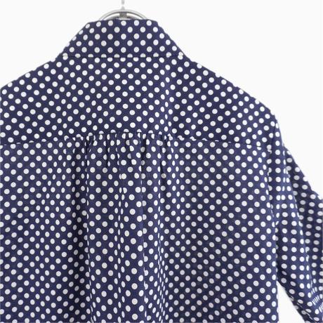 214003 ドットプリント シャツ