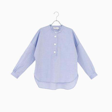 214513 ピンポイントオックスパラシュートボタンスタンドカラーシャツ