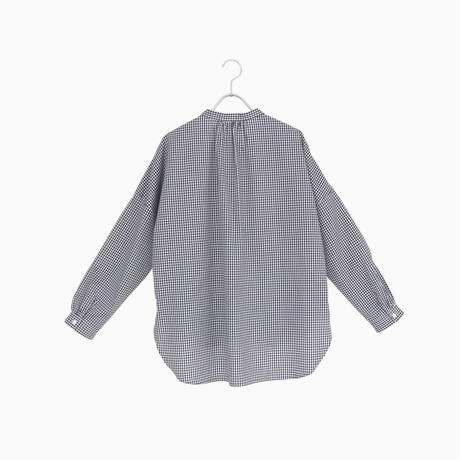 214532 ギザ100/2スタンドカラーシャツ