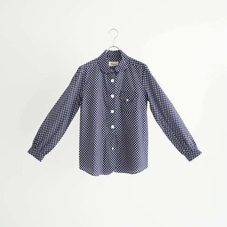 184501 ドットプリントシャツ
