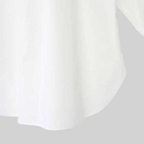 214518 超長綿タイプライターシャツ