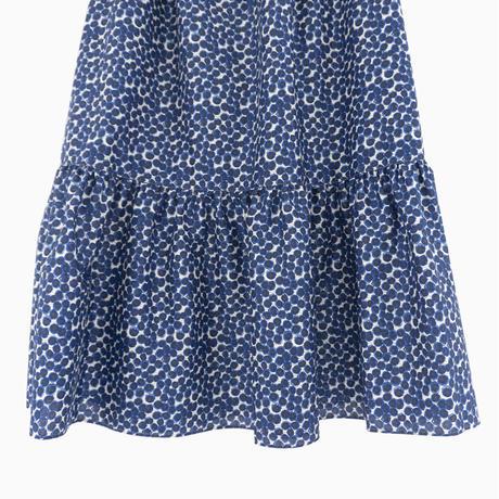 217034 リバティ小花柄ギャザースカート