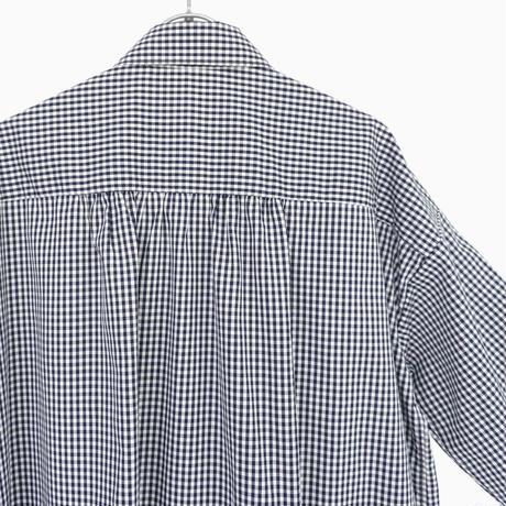 214533 ギザ100/2パラシュートボタンロングシャツ